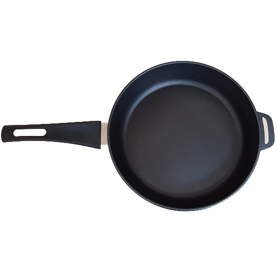 Сковородка Talko с антипригарным покрытием A 50283 28 см со стеклянной крышкой и металлическим ободком