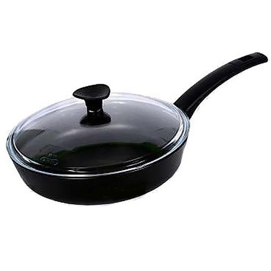 Сковородка Talko с антипригарным покрытием A 51262 26 см с жаростойкой крышкой PYREX