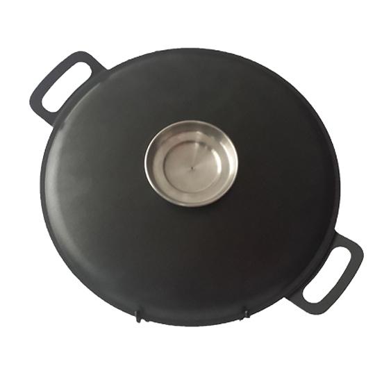 Сковородка Talko с антипригарным покрытием WOK  A 52301a  30 см и металлической крышкой Арома