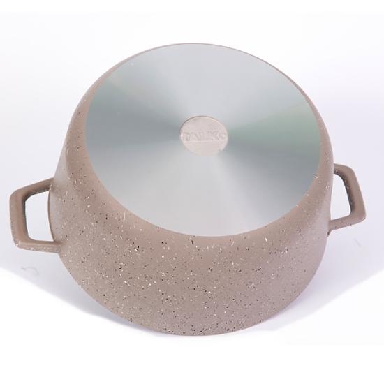 Кастрюля с антипригарным покрытием Talko AA 3006 с алюминиевой крышкой