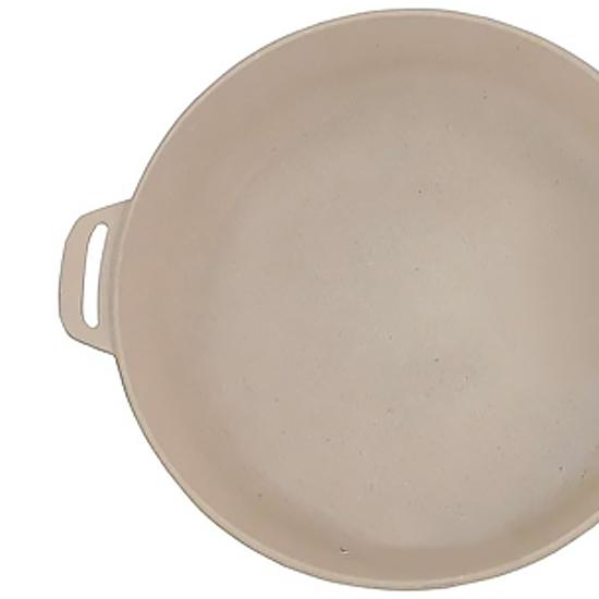 Сковородка Talko мраморная  AA 50283 28 см cо стеклянной крышкой и металлическим ободком