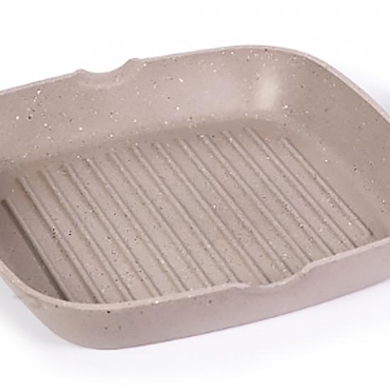 Сковородка Talko мраморная с антипригарным покрытием для гриля AA 51260 26 см