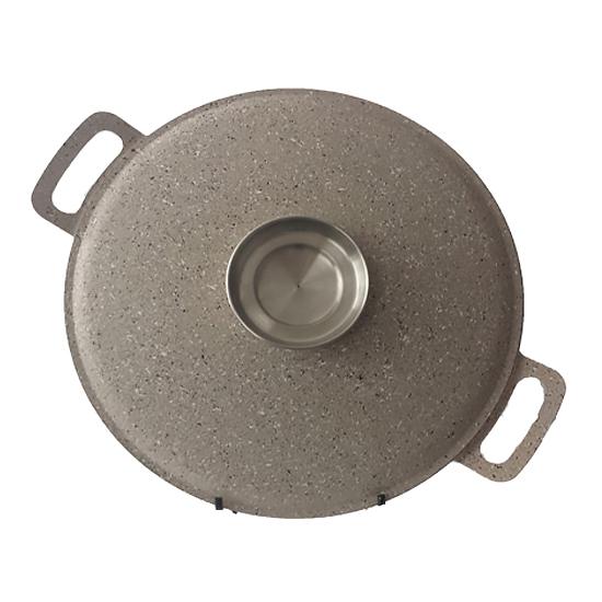 Сковородка Talko с антипригарным покрытием WOK  AA 52301a  30 см и металлической крышкой Арома