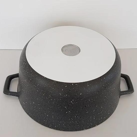 Кастрюля с антипригарным покрытием Talko AD 3004 4 л с алюминиевой крышкой