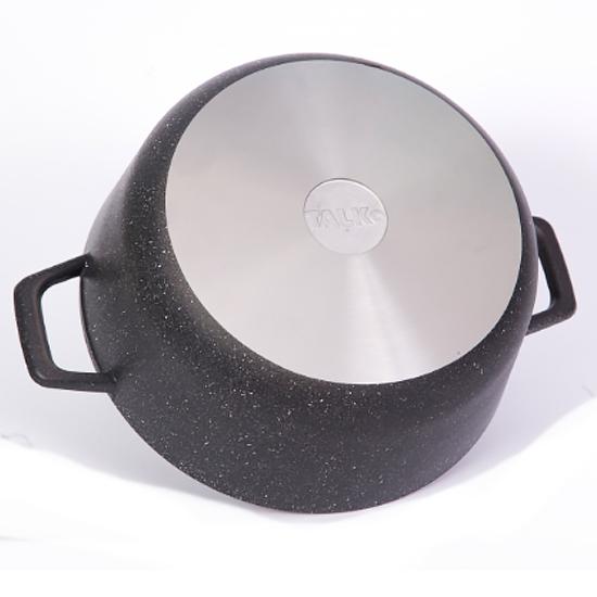 Кастрюля с антипригарным покрытием Talko AD 3104 4 л с стеклянной крышкой PYREX