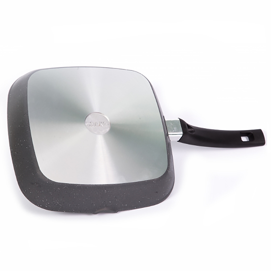 Сковородка Talko мраморная с антипригарным покрытием для гриля AD 51260 26 см