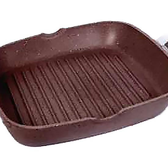 Сковородка Talko мраморная с антипригарным покрытием для гриля AK 51260 26 см