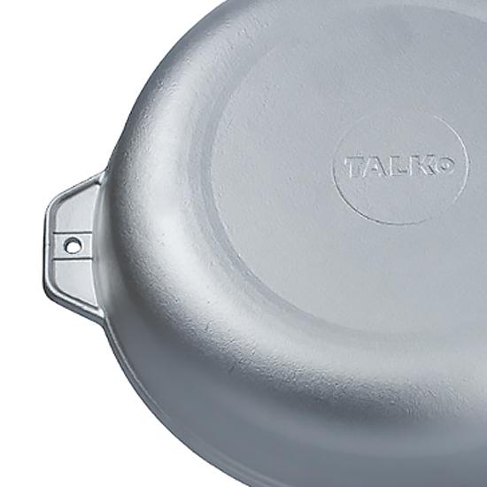 Сковородка Talko алюминиевая D 41280 28 см c литыми ручками без крышки