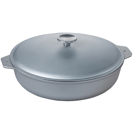 Сковородка Talko алюминиевая D 41321 32 см c литыми ручками и крышкой