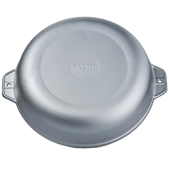 Сковородка Talko алюминиевая D 41281 28 см c литыми ручками и крышкой