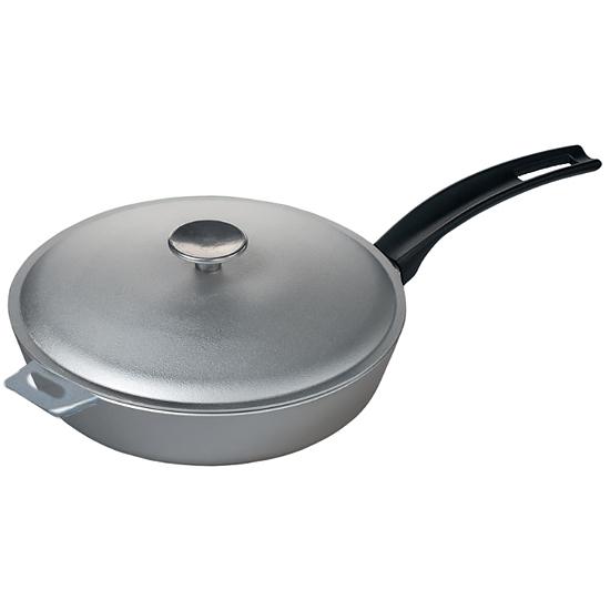 Сковородка Talko алюминиевая D 502861 28 см с утолщением дном и крышкой