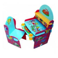 """Детская парта и стул """"Тачки"""""""