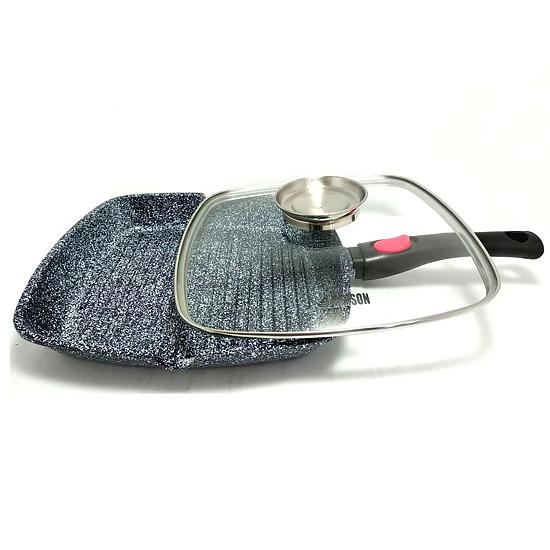Сковорода-гриль BN-310 алюминий литой 3 предмета