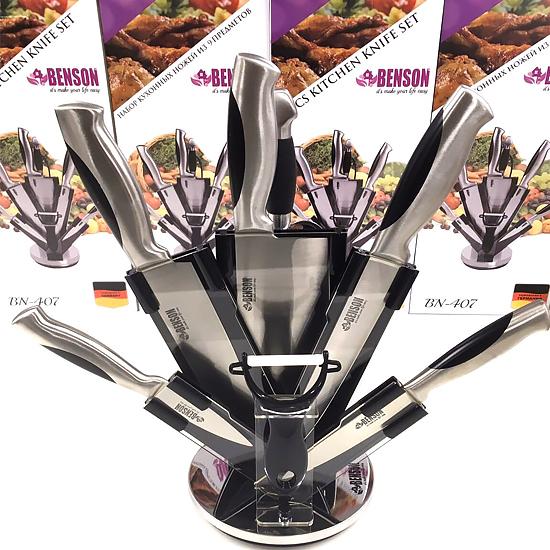 Набор ножей из нержавеющей стали BN-407 9 предметов
