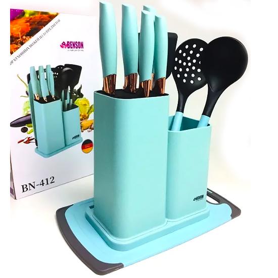 Набор ножей из нержавеющей стали BN-412 из 10 предметов