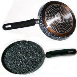 Сковорода для блинов коричневая BN-553 алюминий литой 1 предмет