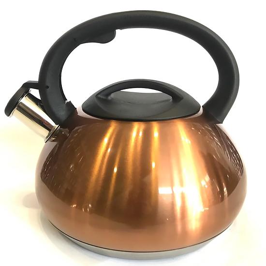 Чайник со свистком BN-713 из нержавеющей стали